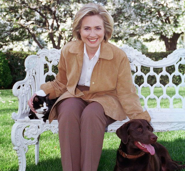 Hillary-Clinton-and-Animals