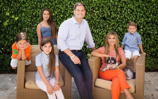 Marco-Rubio-Family-And-Dog