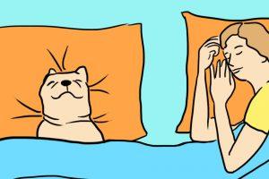 sleeping with dog health benefits