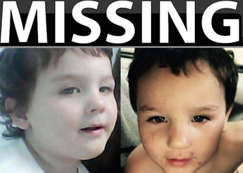 boy missing set of prints