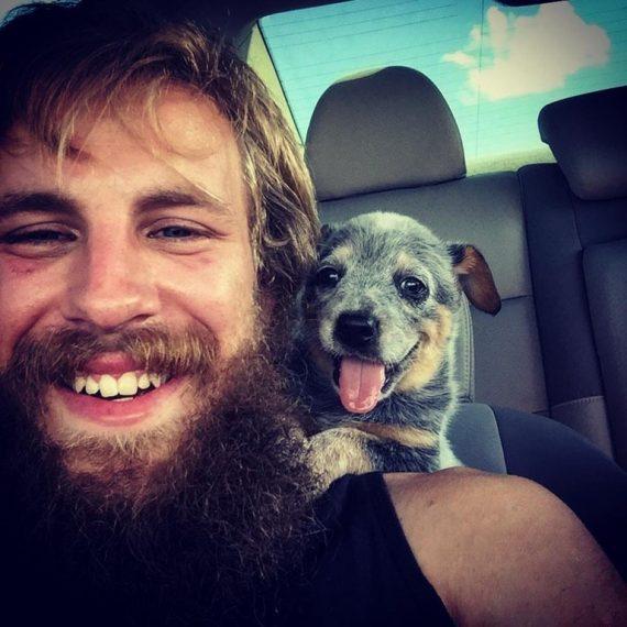 dog human first meeting